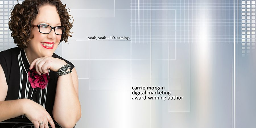 Carrie Morgan home page placeholder