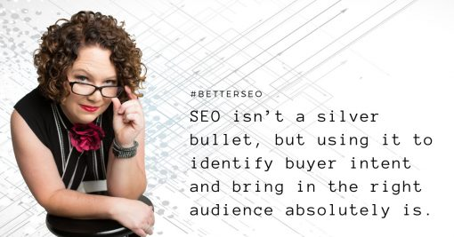 SEO quote by Carrie Morgan